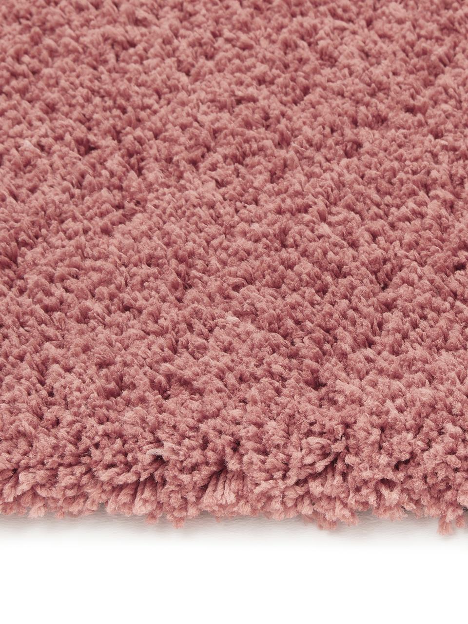 Alfombra de pelo largo Leighton, Parte superior: 100%poliéster (microfibr, Reverso: 70%poliéster, 30%algodó, Terracota, An 200 x L 300 cm (Tamaño L)