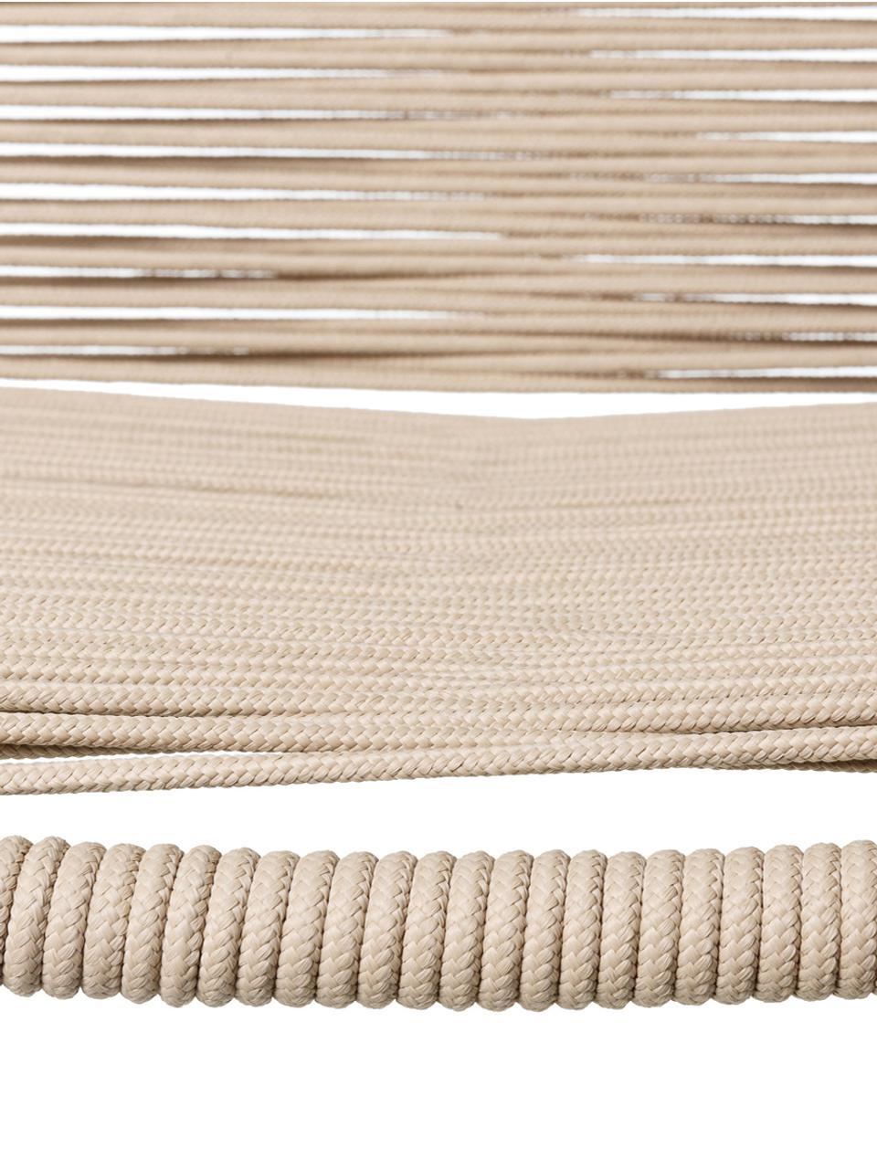 Tuinstoelen Suture, 2 stuks, Poten: gelakt edelstaal, Beige, B 53 x D 53 cm