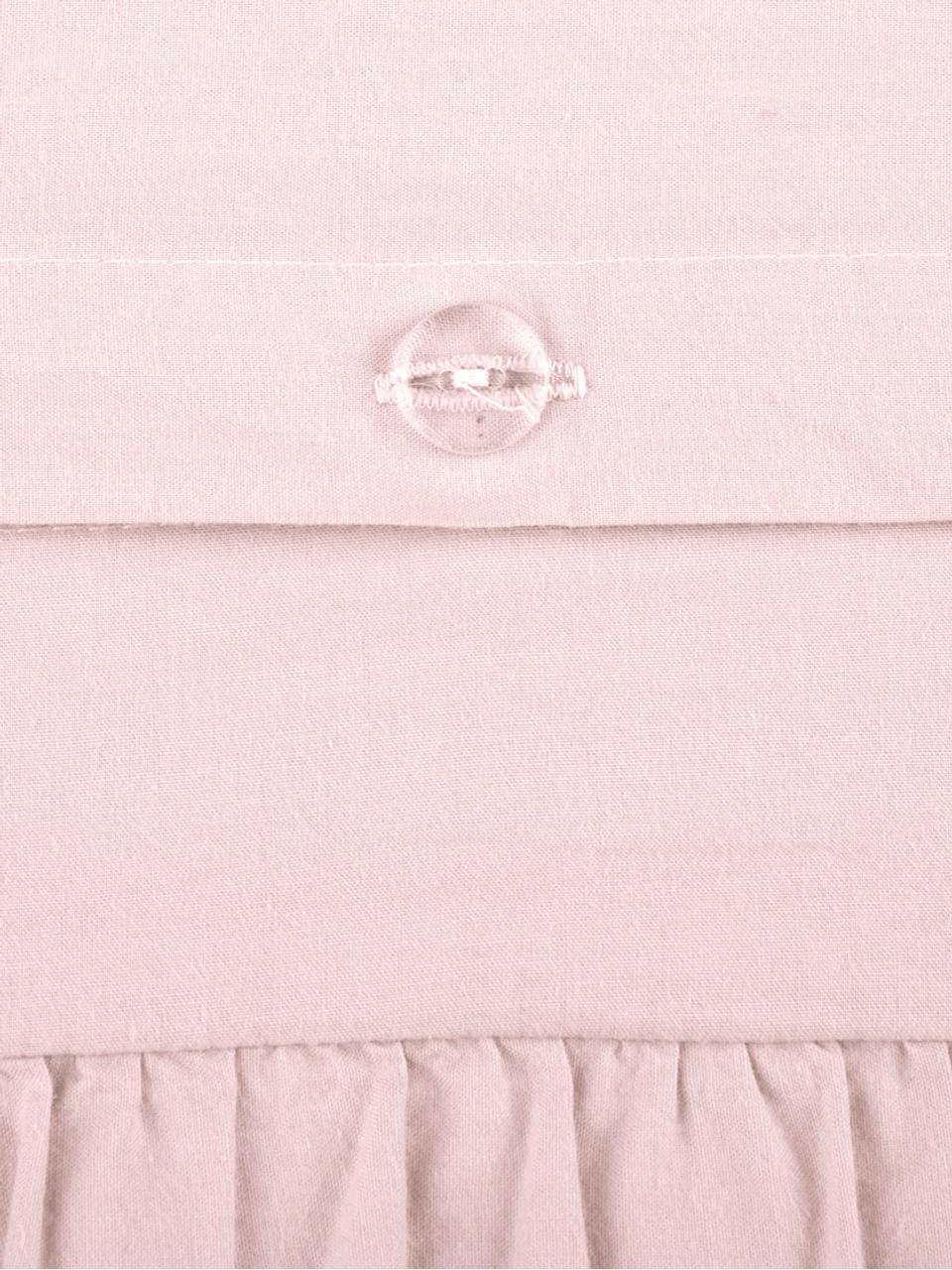 Pościel z bawełny z efektem sprania Florence, Blady różowy, 135 x 200 cm