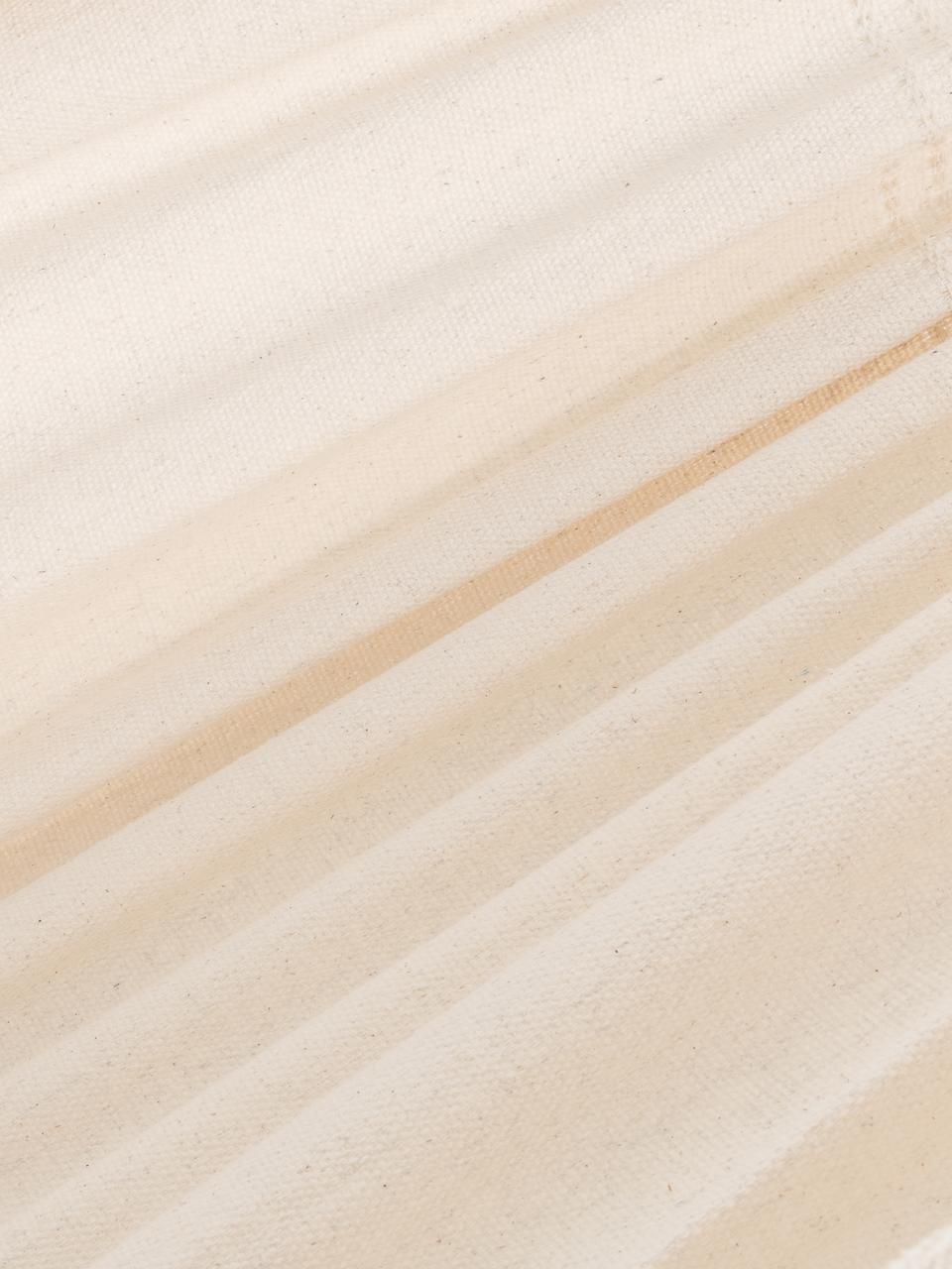 Hängematte Barbados aus Baumwolle, Beige, 150 x 340 cm