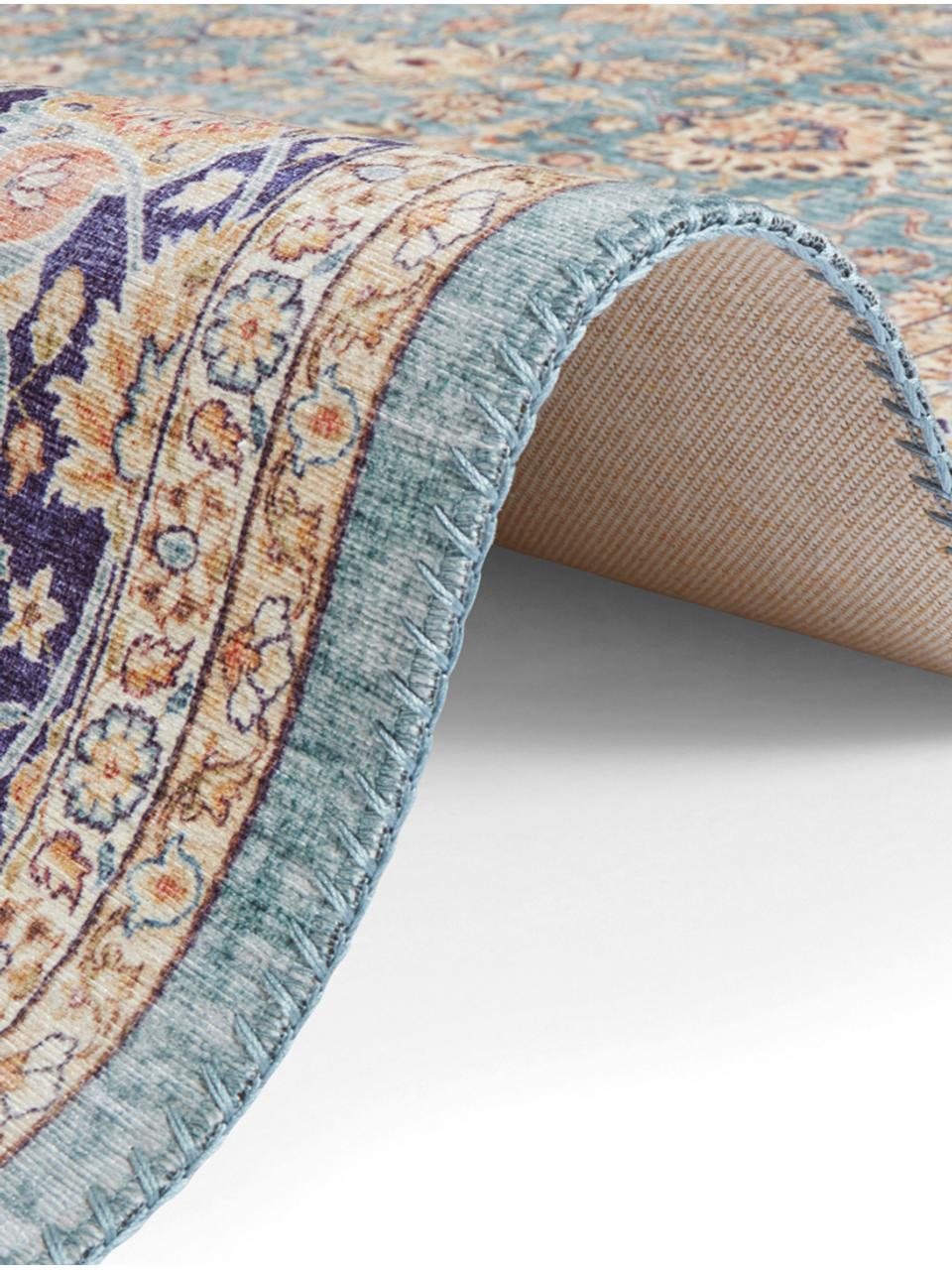 Teppich Keshan Maschad im Orient Style, Jadegrün, Mehrfarbig, B 200 x L 290 cm (Größe L)