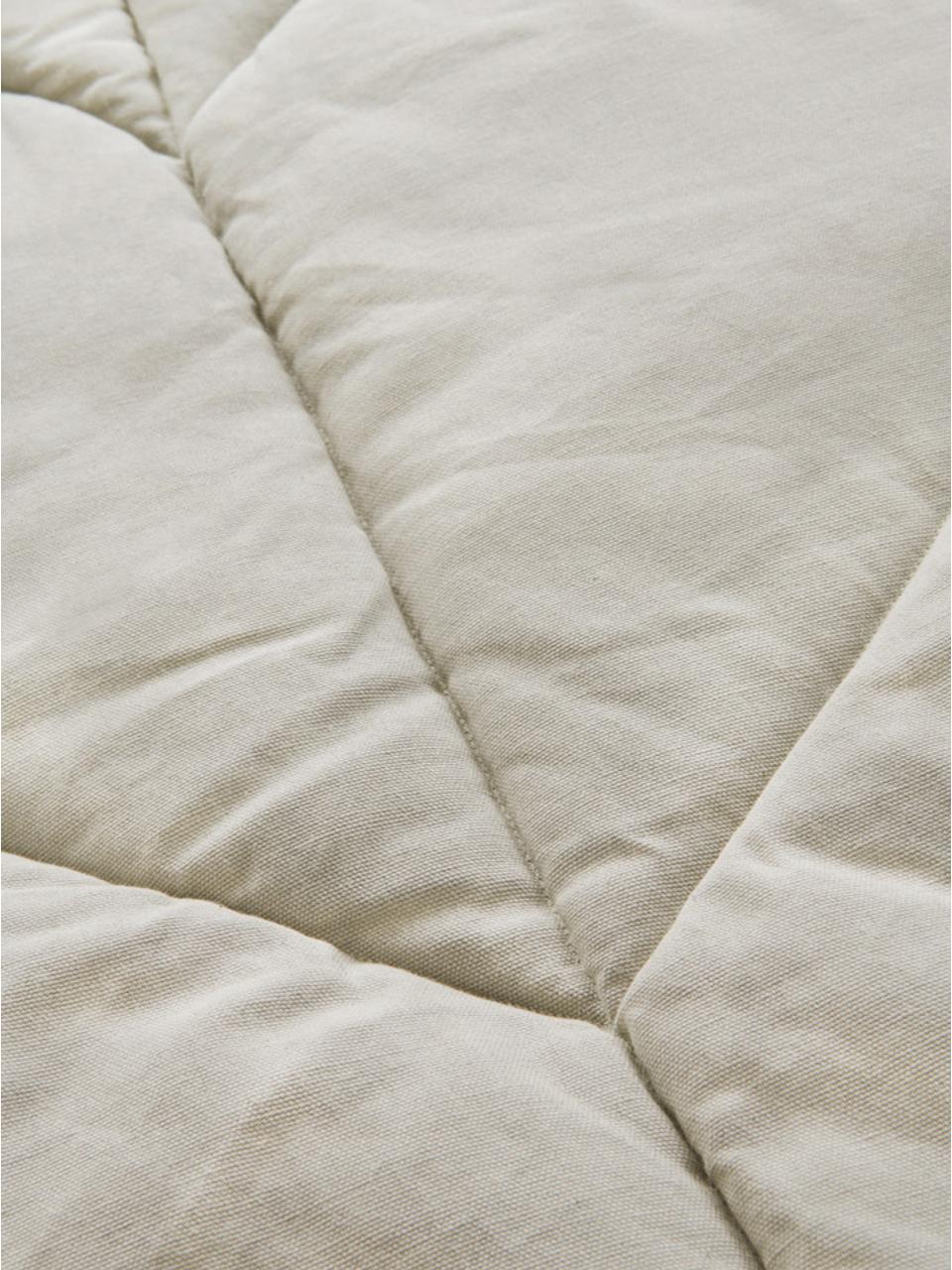 Spielmatte Keaton, Bezug: 100% Biobaumwolle, Beige, 100 x 165 cm