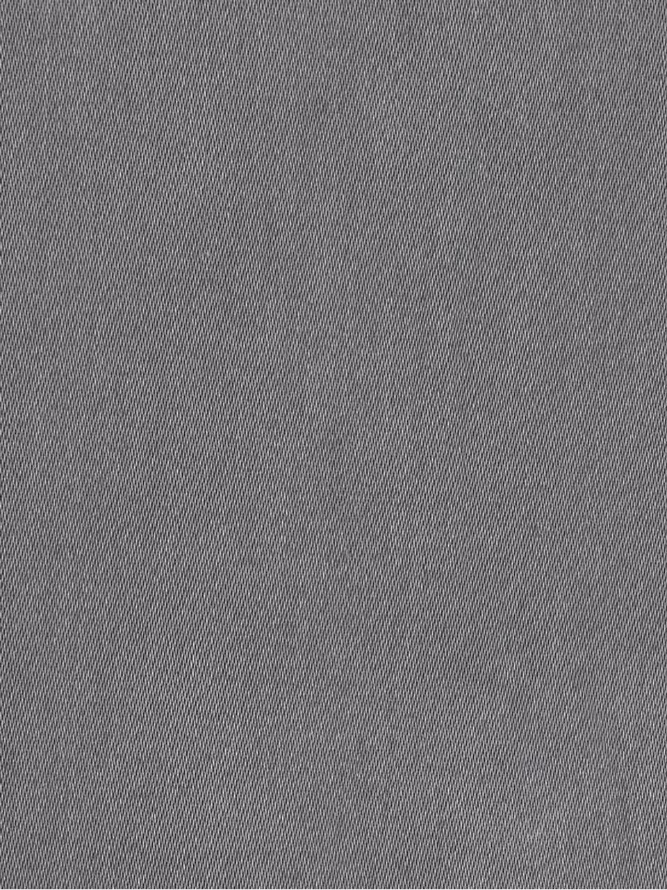 Parure copripiumino in raso di cotone Comfort, Grigio scuro, 255 x 200 cm