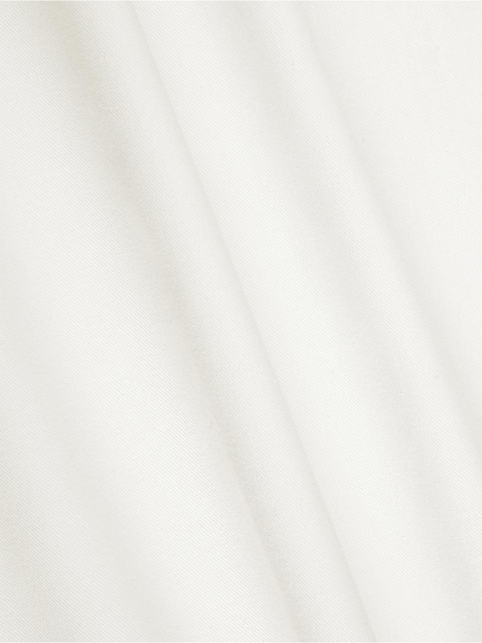 Baumwoll-Kissenhülle Mads in Weiß, 100% Baumwolle, Weiß, 40 x 40 cm