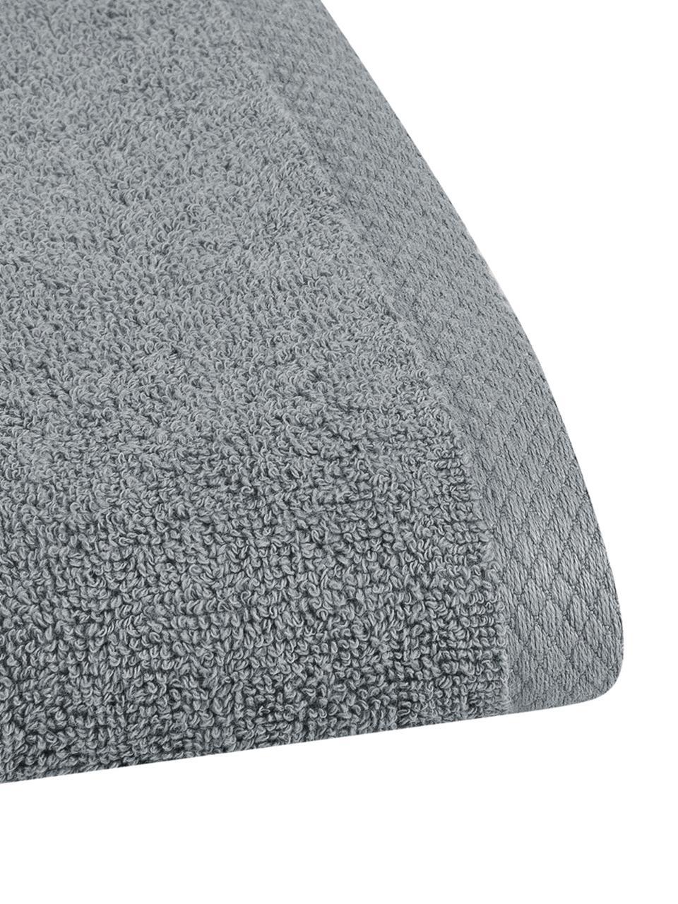 Einfarbiges Handtuch Comfort, verschiedene Größen, Dunkelgrau, Gästehandtuch