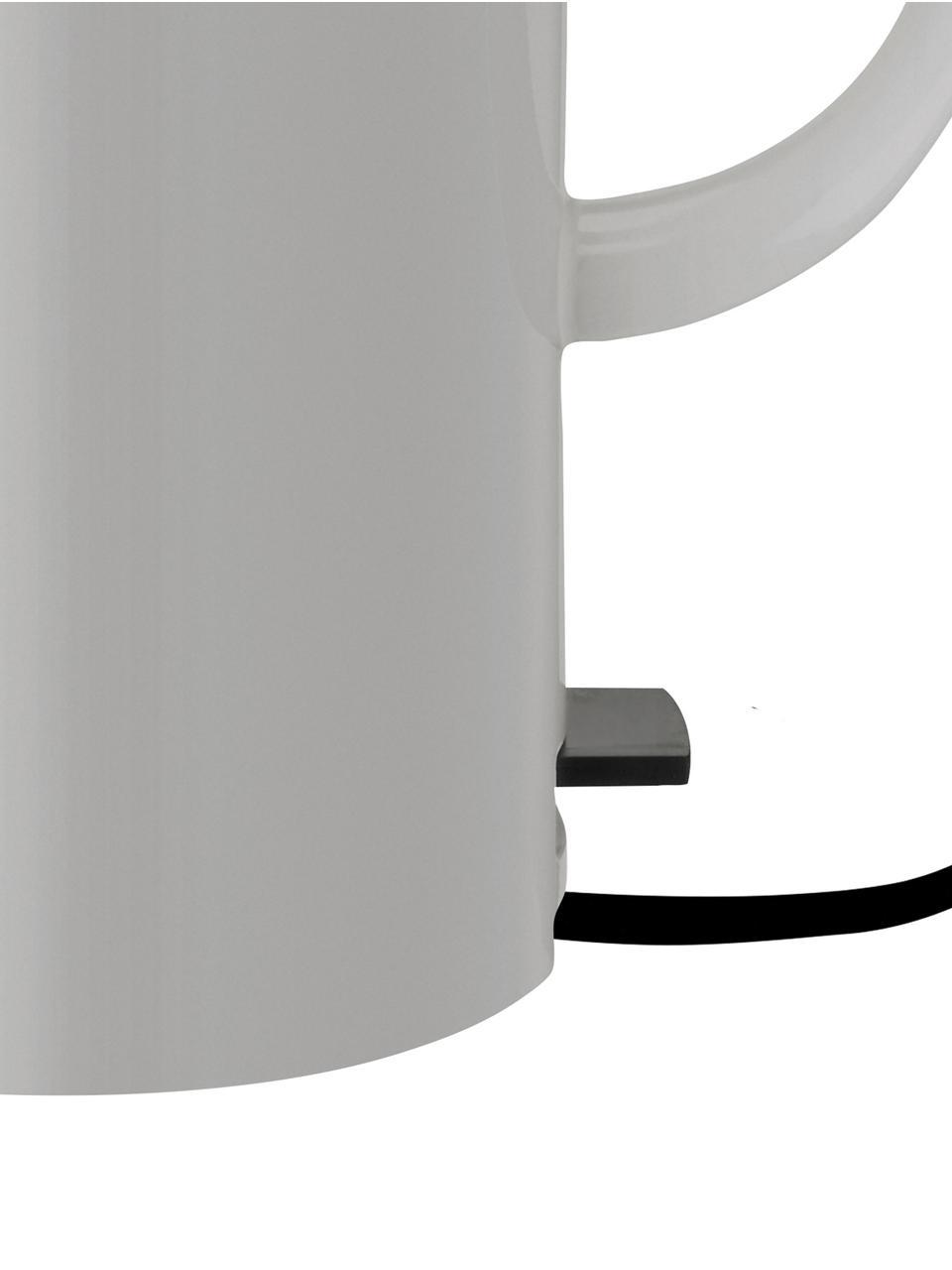 Bouilloire gris brillant EM77, Gris clair, noir