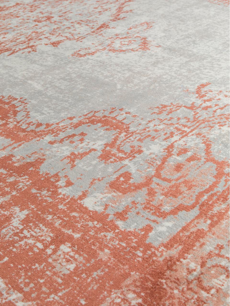 Dywan z frędzlami Marvel, Pomarańczowy i beżowy, S 200 x D 300 cm (Rozmiar L)