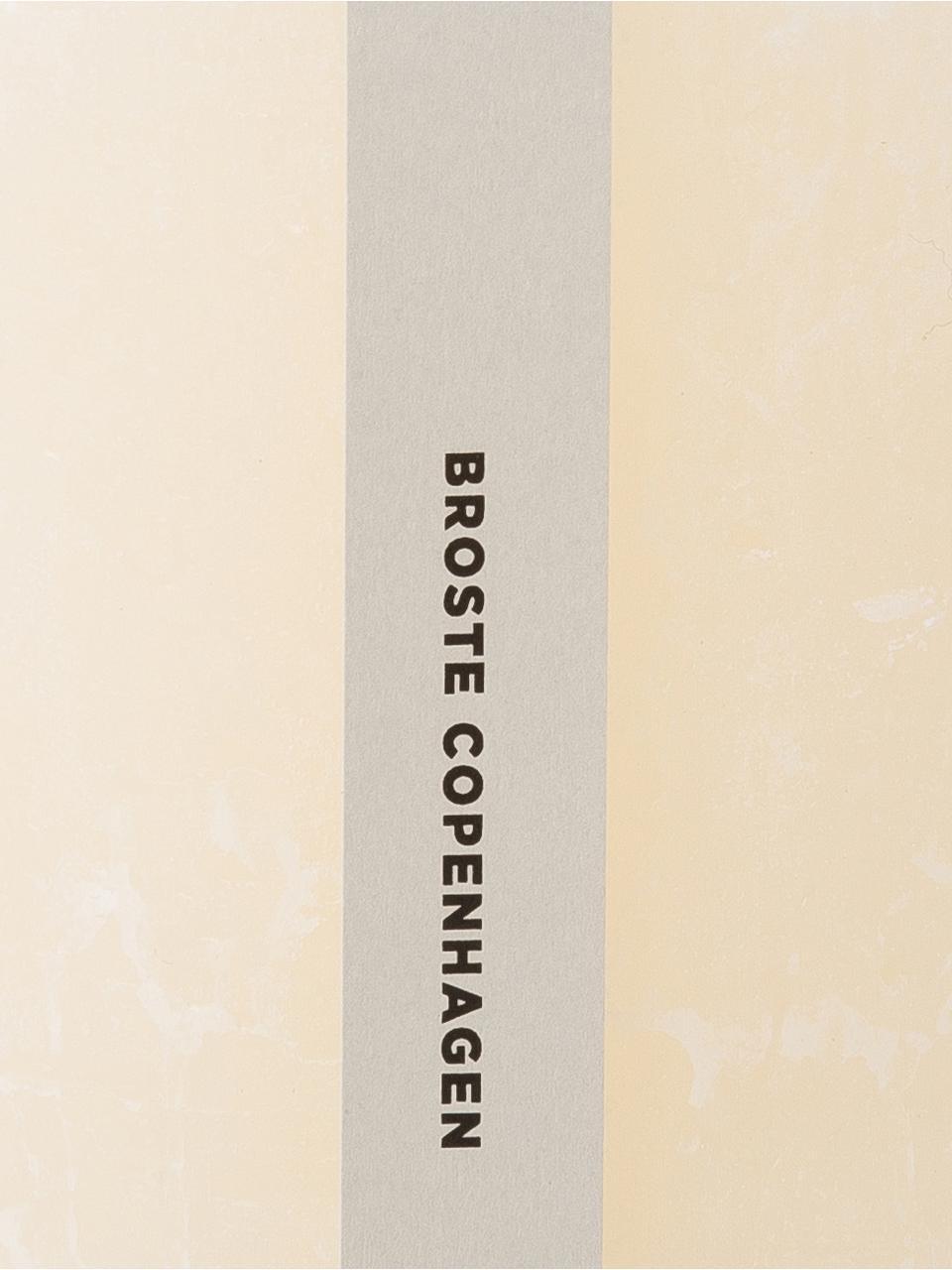 Bougie pilier Rustic, Blanc