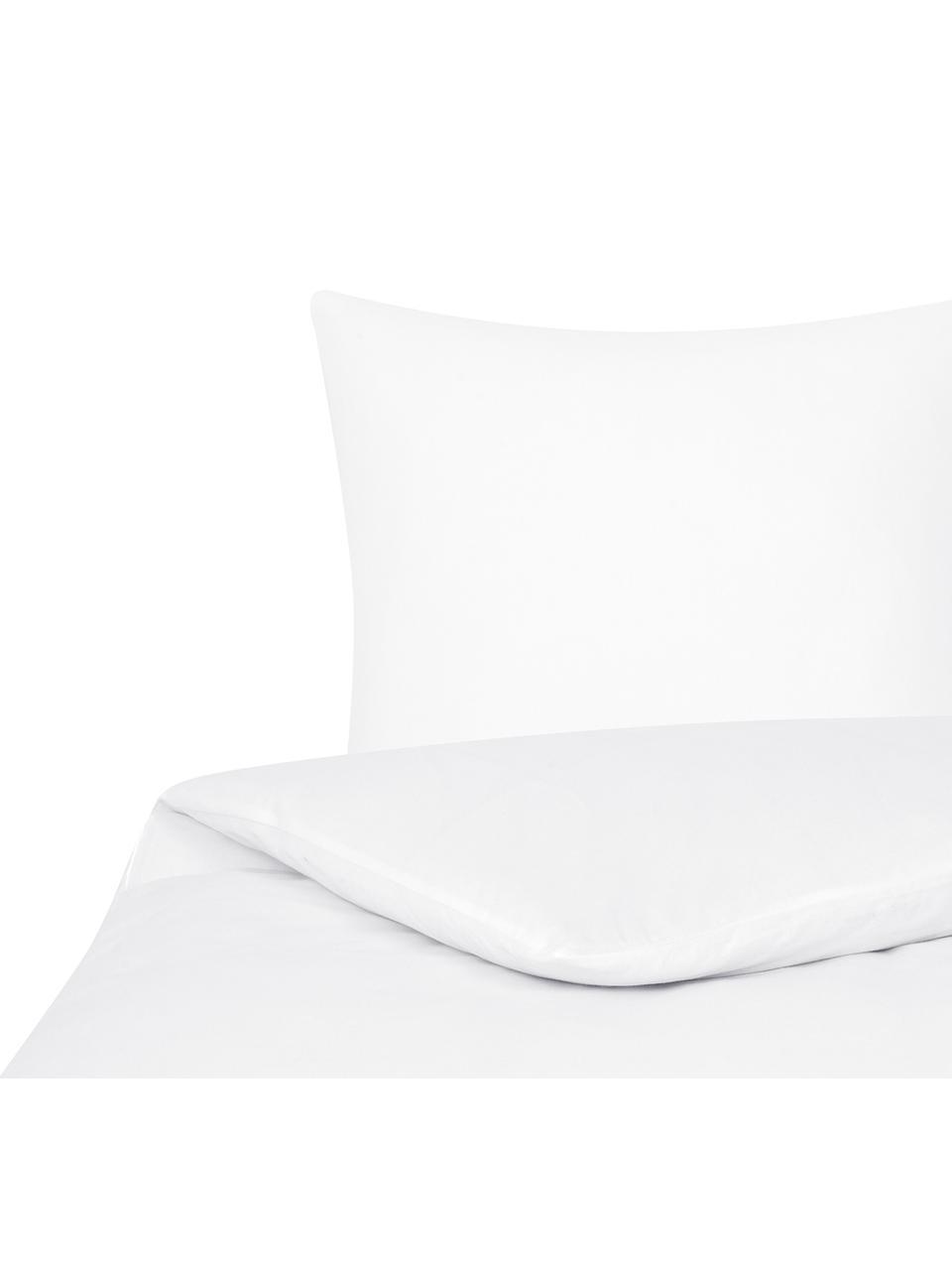 Flanell-Bettwäsche Biba in Weiss, Webart: Flanell Flanell ist ein s, Weiss, 240 x 220 cm + 2 Kissen 80 x 80 cm
