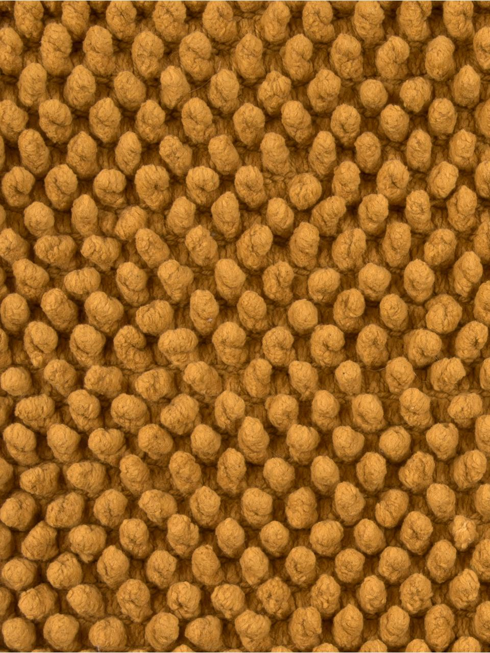 Housse de coussin douce 45x45 jaune Iona, Jaune