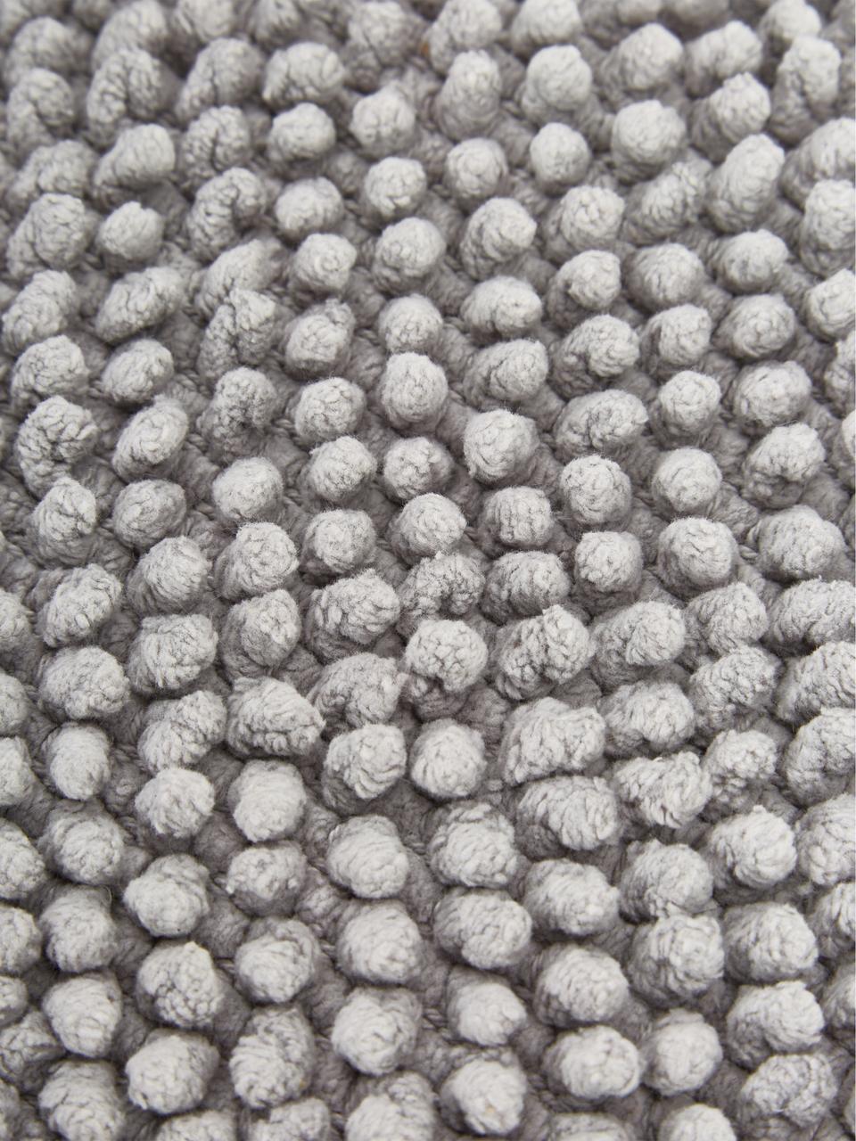 Kissenhülle Indi mit strukturierter Oberfläche in Grau, 100% Baumwolle, Hellgrau, 30 x 50 cm