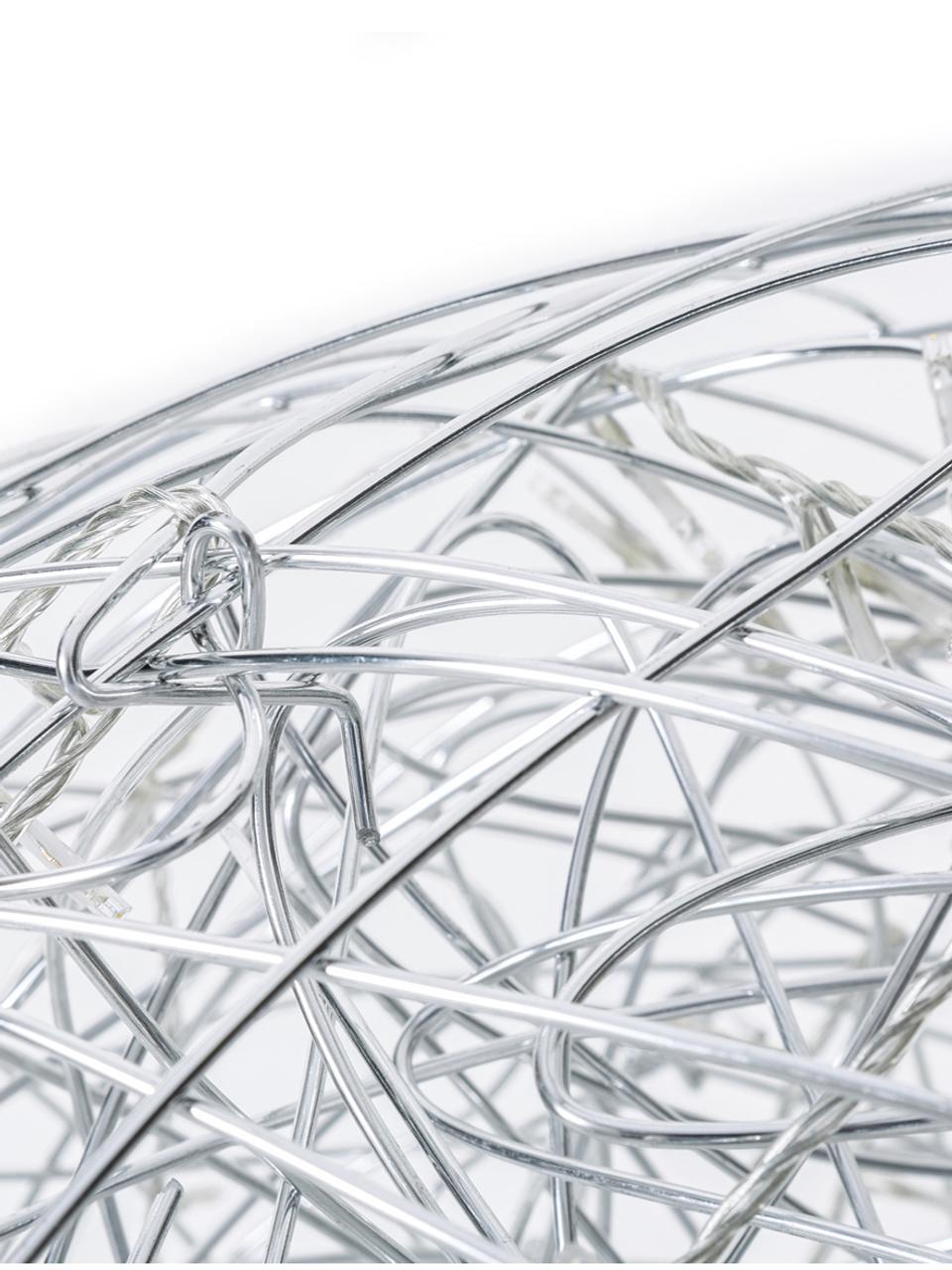 Zewnętrzna lampa dekoracyjna LED Trassel, Aluminium, Ø 38 cm