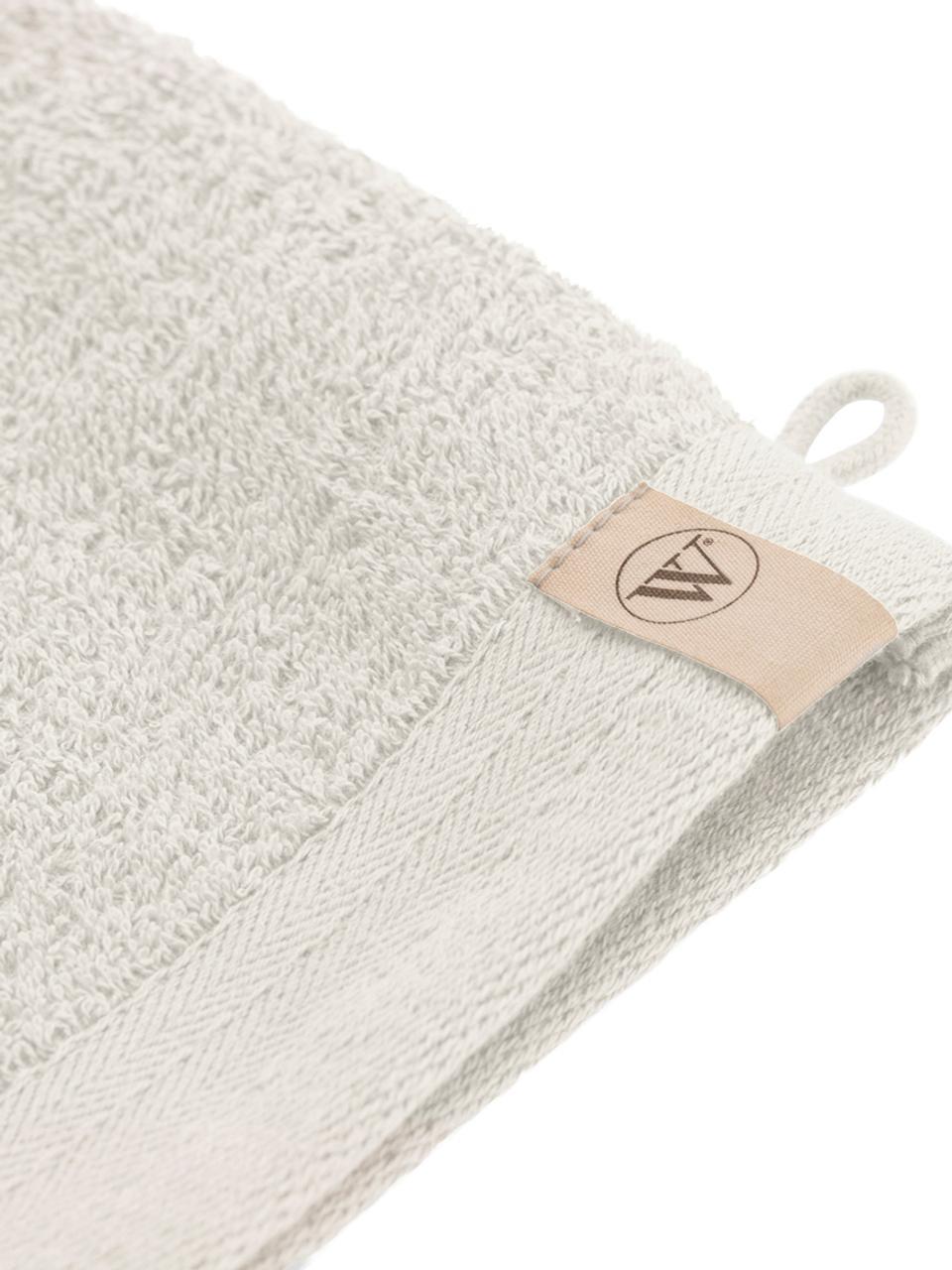 Guanto da bagno Soft Cotton 2 pz, Beige chiaro, Larg. 16 x Lung. 21 cm