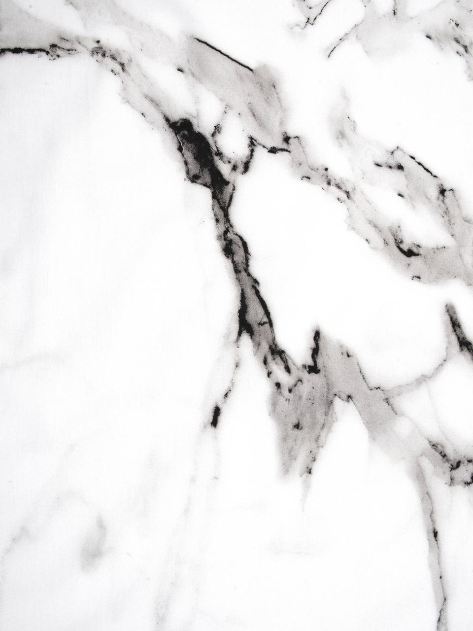 Baumwollperkal-Kissenbezüge Malin mit Marmor-Muster, 2 Stück, Webart: Perkal Fadendichte 200 TC, Vorderseite: Marmormuster, GrauRückseite: Hellgrau, Uni, 40 x 80 cm
