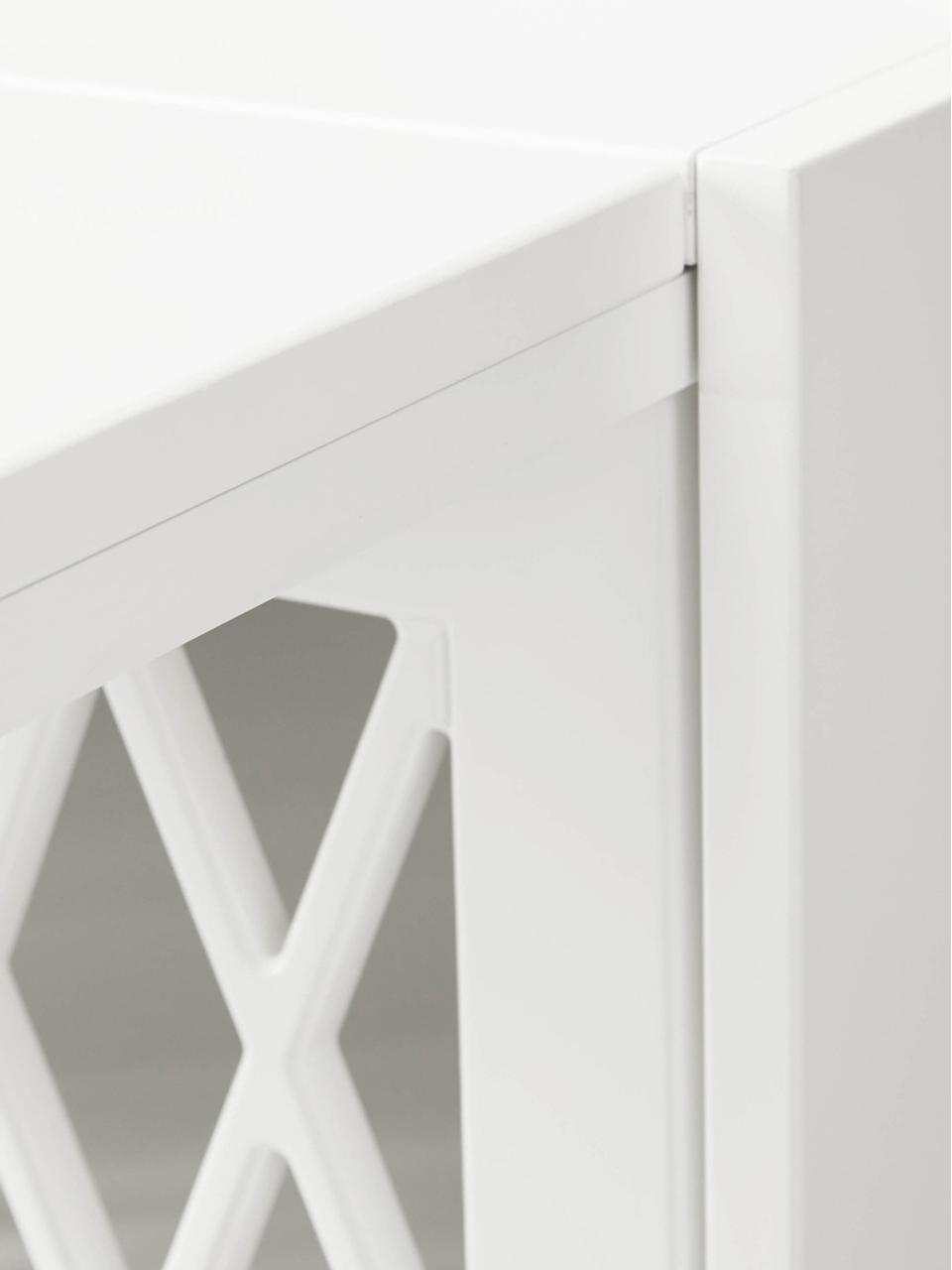 Szafka z przewijakiem Harlequin, Drewno sosnowe, lakierowane, Biały, S 84 x W 100 cm