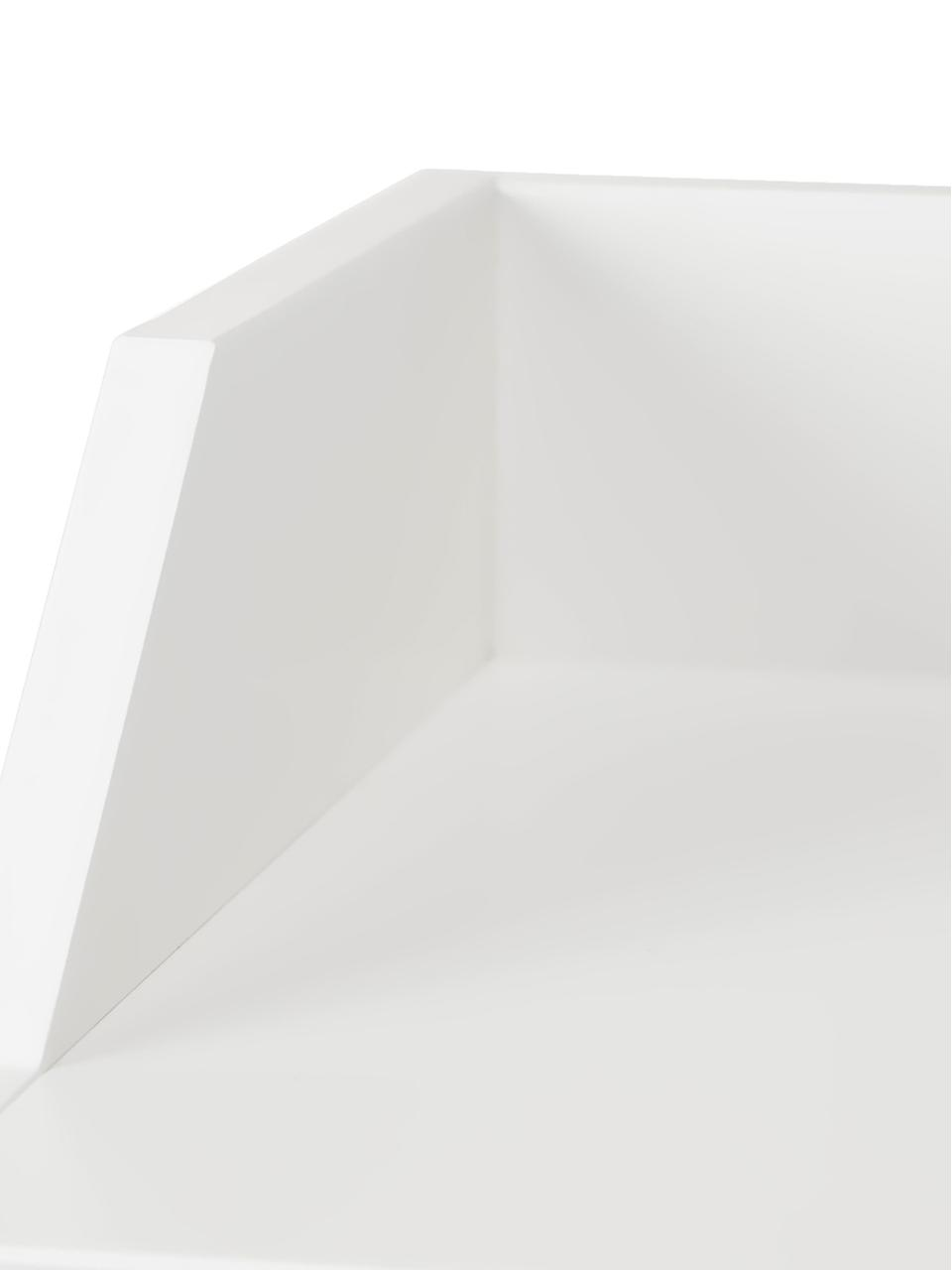 Wickelschrank Harlequin, Kiefernholz, lackiert, Weiß, 84 x 100 cm