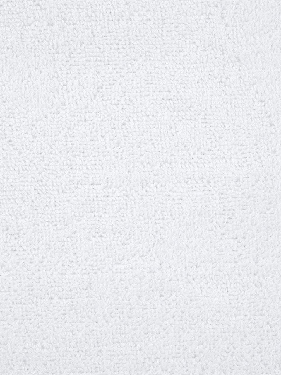Asciugamano in tinta unita Comfort, Bianco, Asciugamano per ospiti