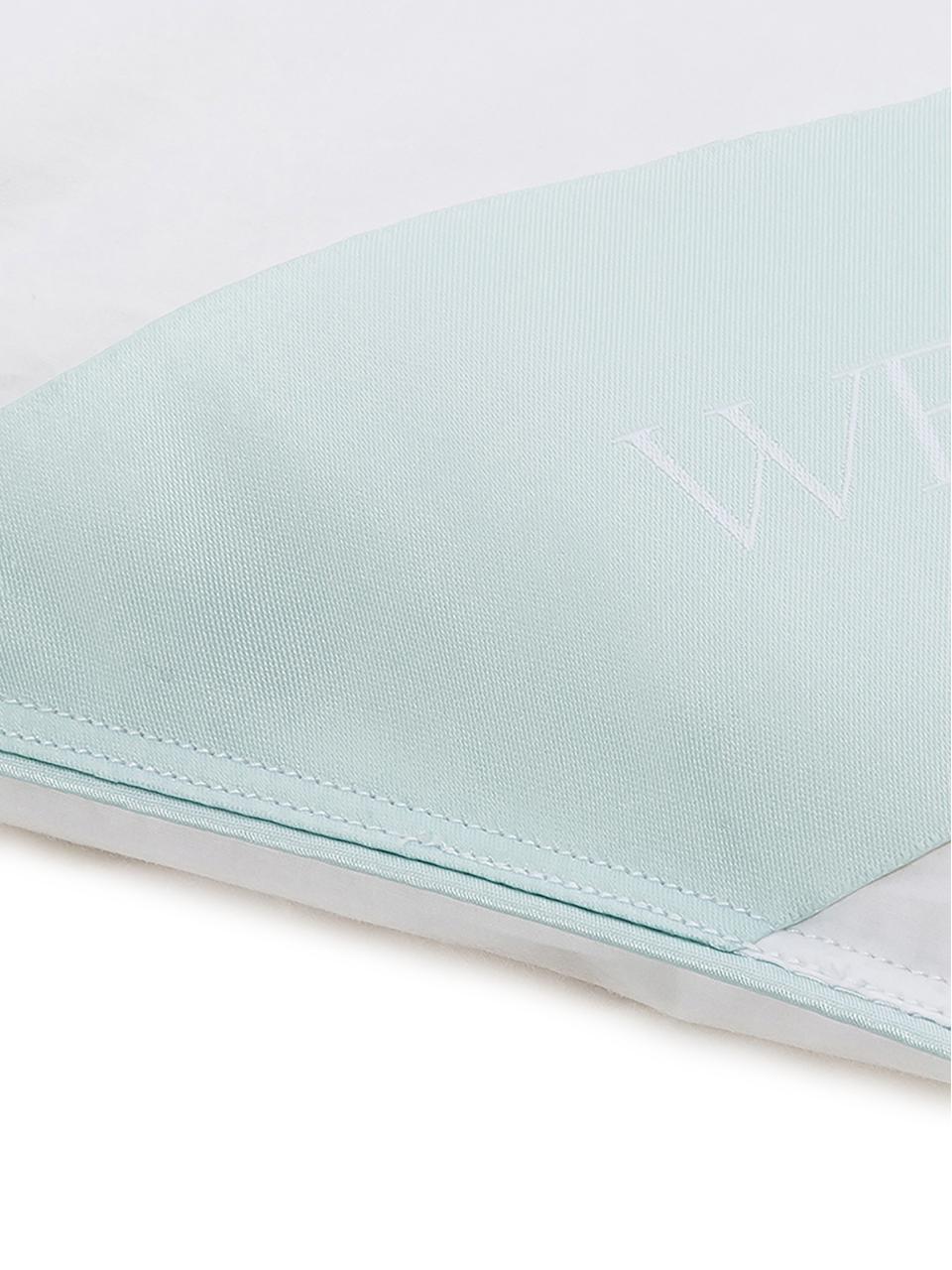 Piumino trapuntato in piuma d'oca Comfort, medio, Rivestimento: 100% cotone, pregiata cop, Bianco, Larg. 200 x Lung. 200 cm