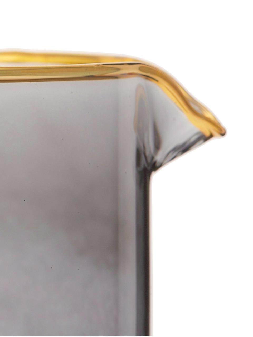 Dzbanek Chloe, 1,6 l, Szkło, Szaroniebieski, W 25 cm