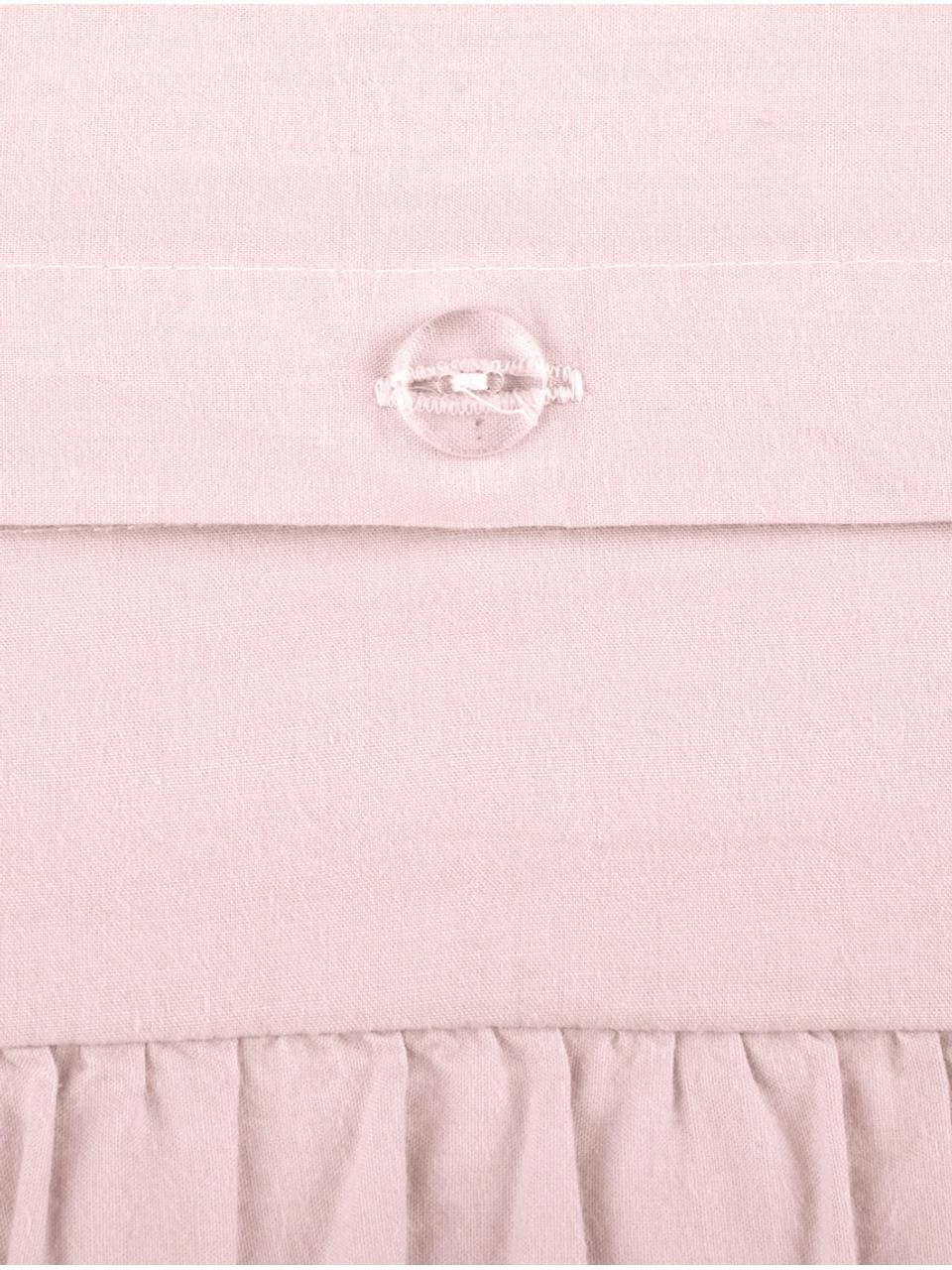 Poszewka na poduszkę z bawełny Florence, 2 szt., Blady różowy, S 40 x D 80 cm