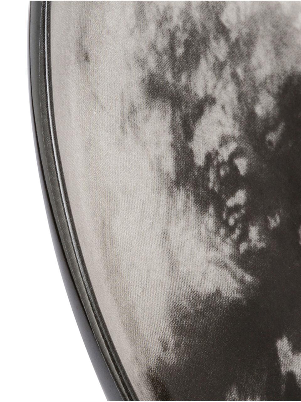 Speiseteller Cosmic Diner Titan, Porzellan, Grau, Ø 26 cm
