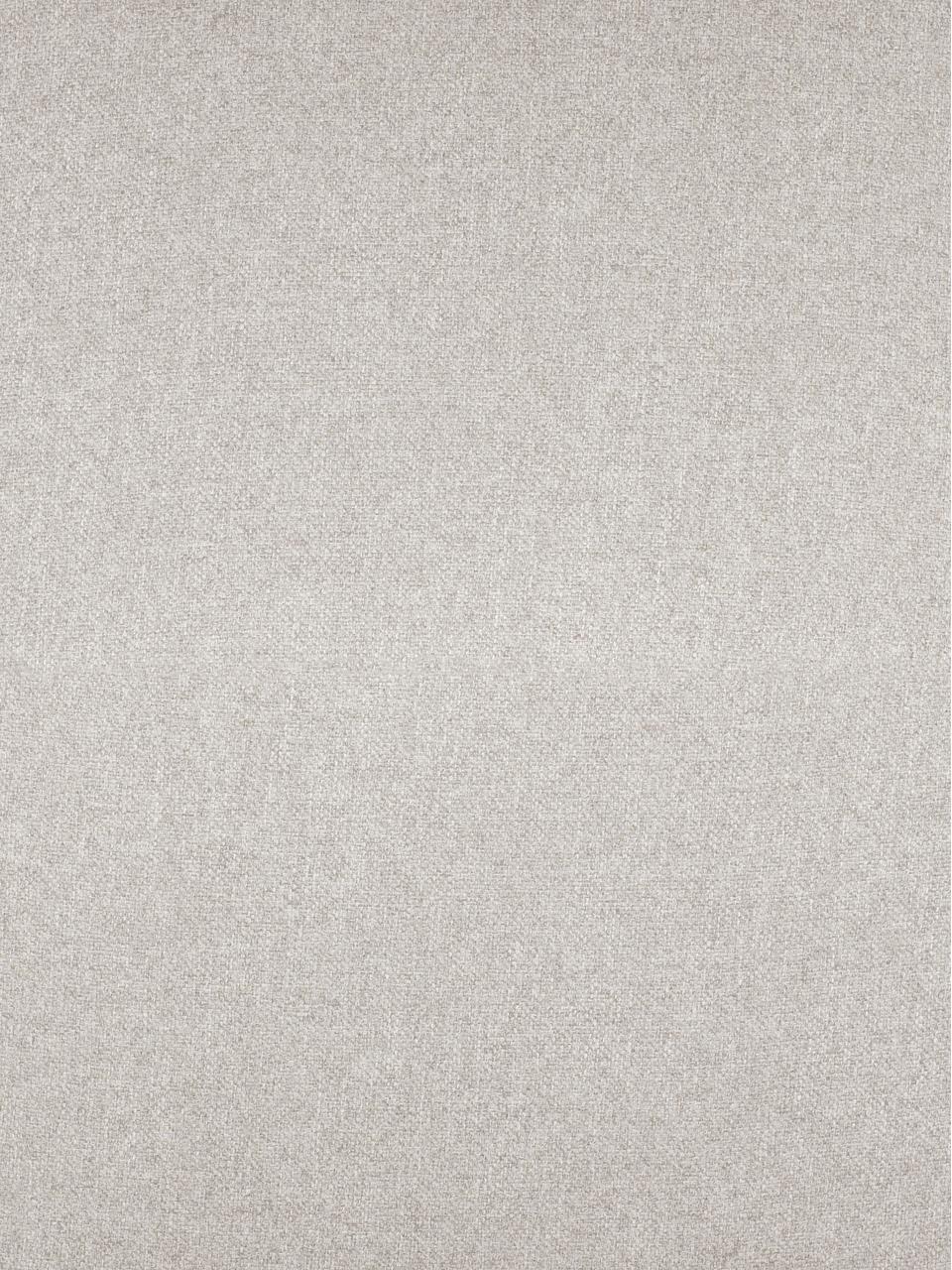 Puf z metalowymi nogami Fluente, Tapicerka: 80% poliester, 20% ramia , Stelaż: lite drewno sosnowe, Stelaż: lite drewno sosnowe, Nogi: metal malowany proszkowo, Beżowy, S 62 x W 46 cm