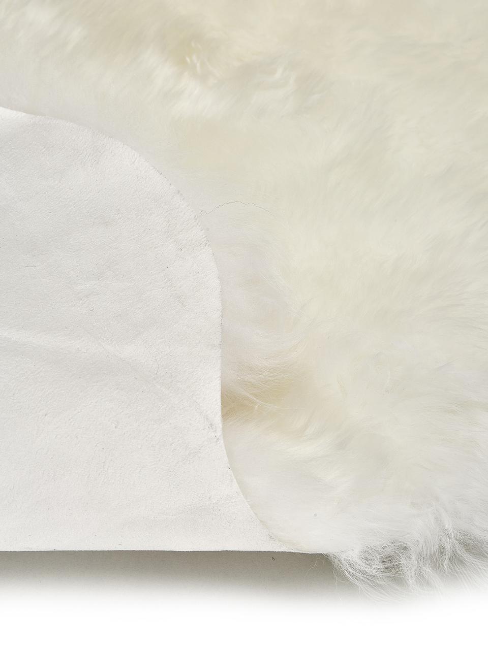 Dywan ze skóry owczej Oslo, Odcienie kości słoniowej, S 60 x D 180 cm