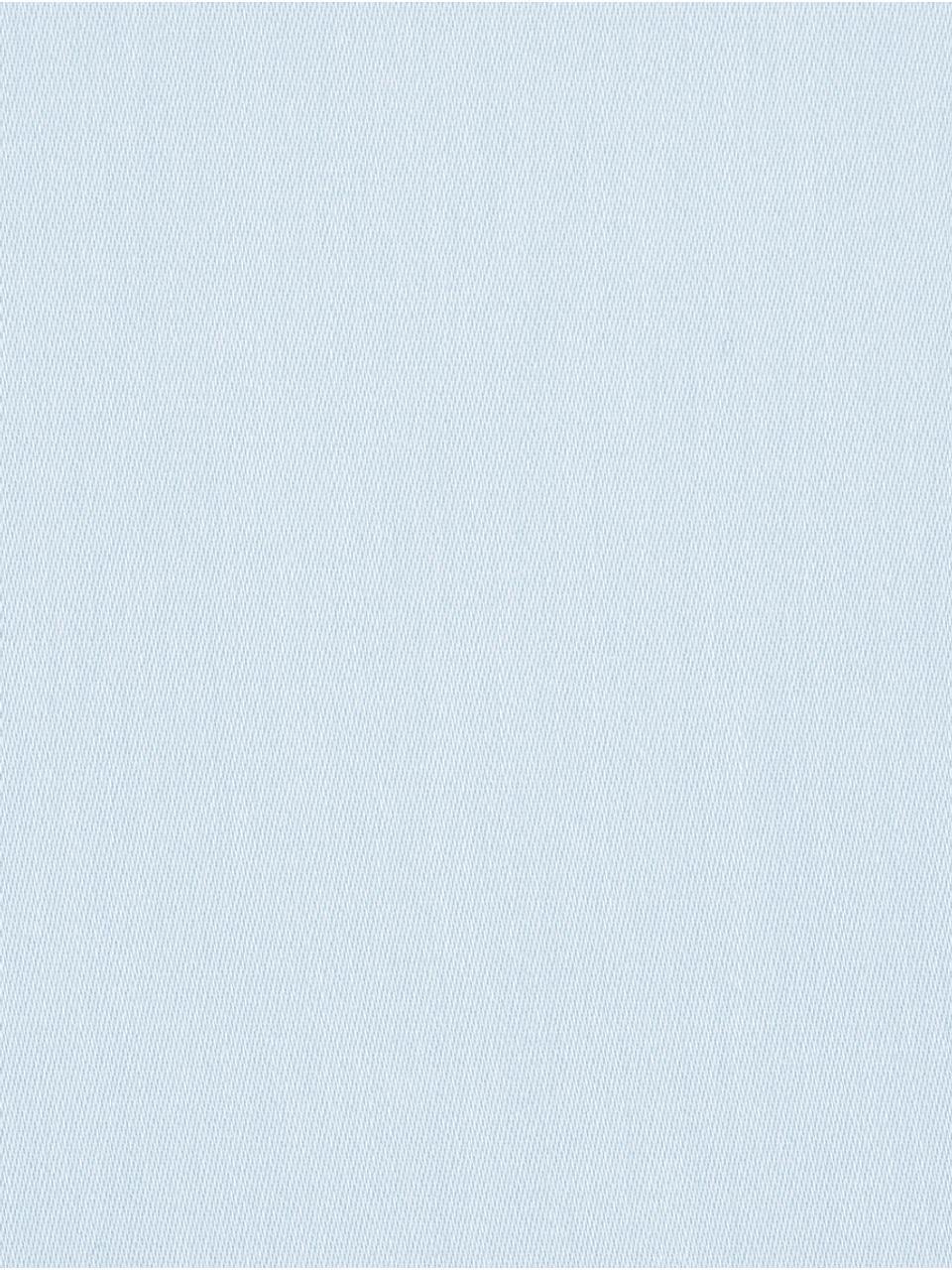 Baumwollsatin-Kissenbezüge Comfort in Hellblau, 2 Stück, Webart: Satin Fadendichte 250 TC,, Hellblau, 40 x 80 cm