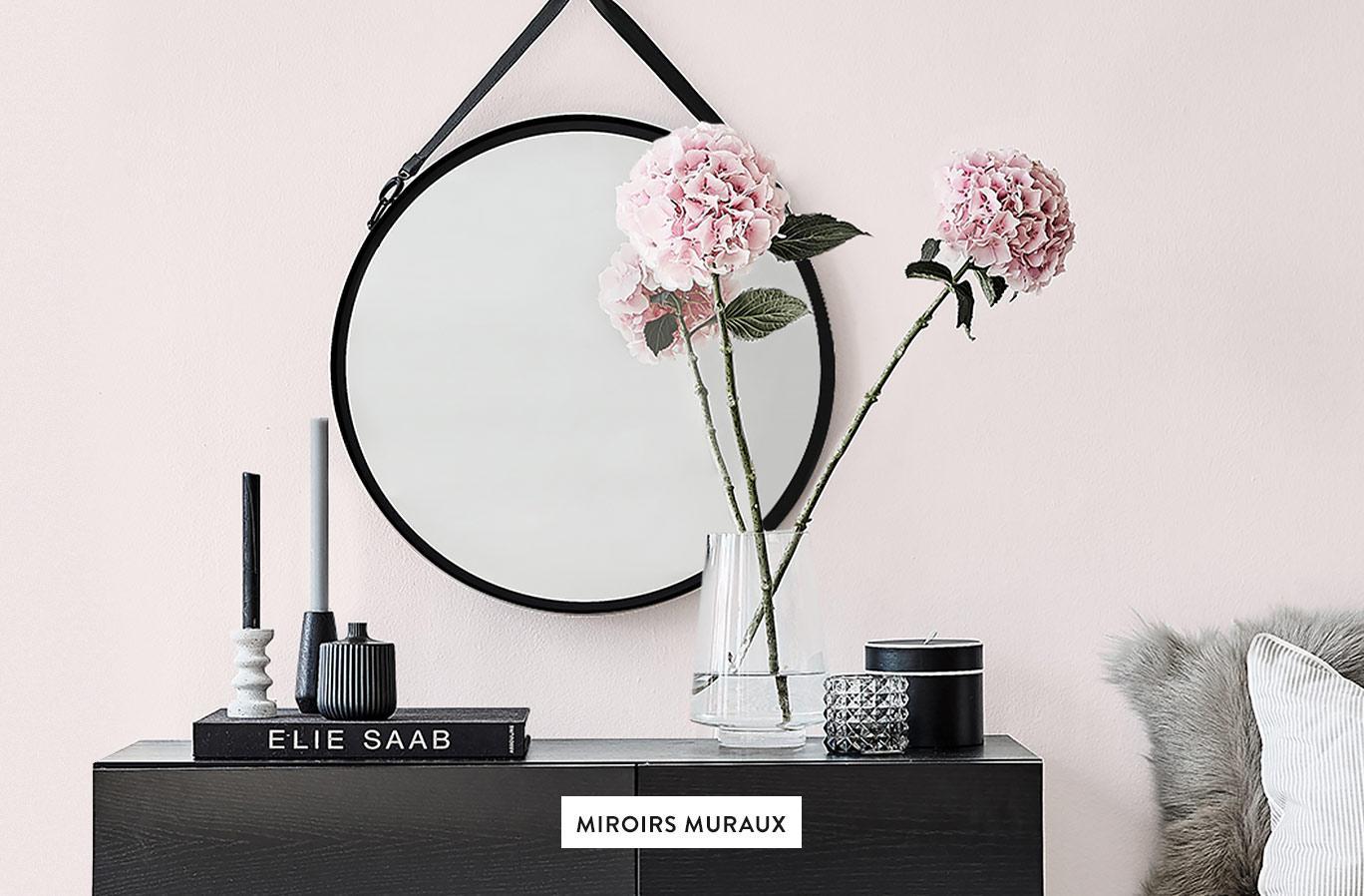 Miroir mosaïque miroir Dekospiegel miroir mural rond