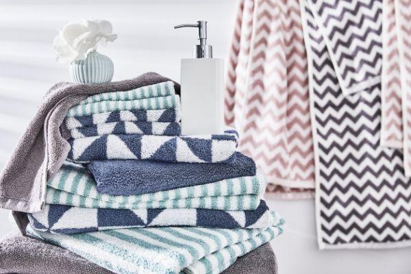 asciugamani bagno e teli doccia