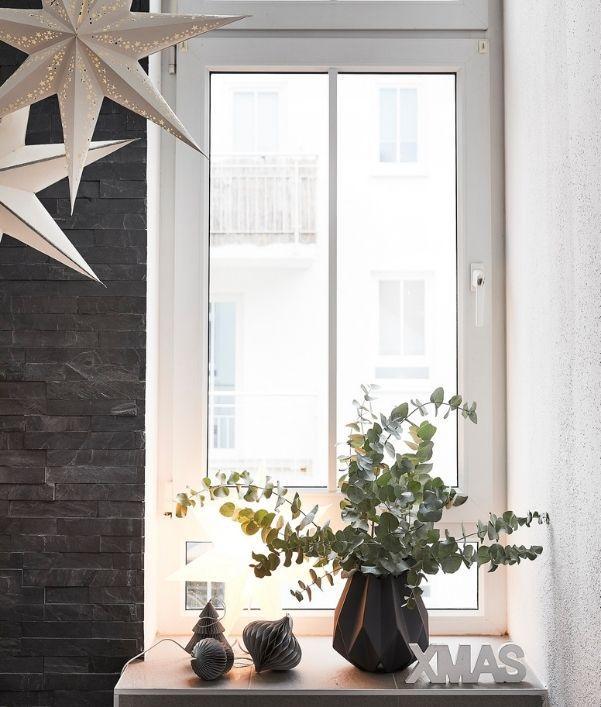 decorazioni finestre natale