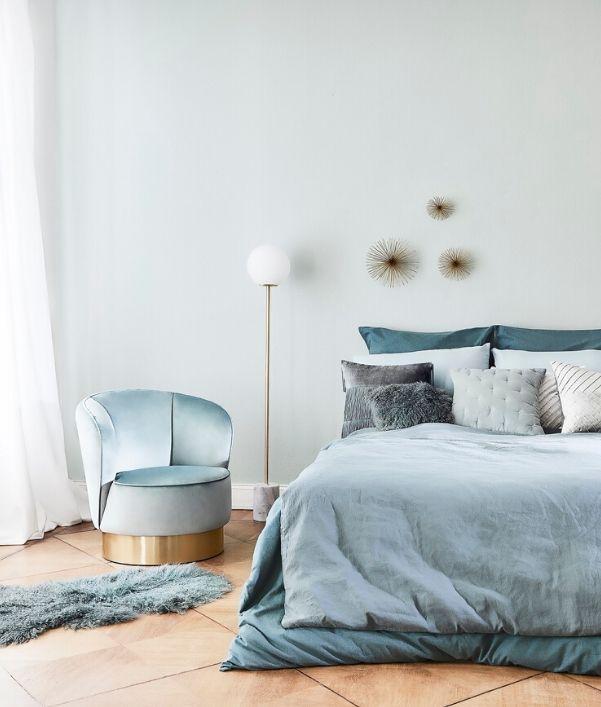 Dust Blue interieur