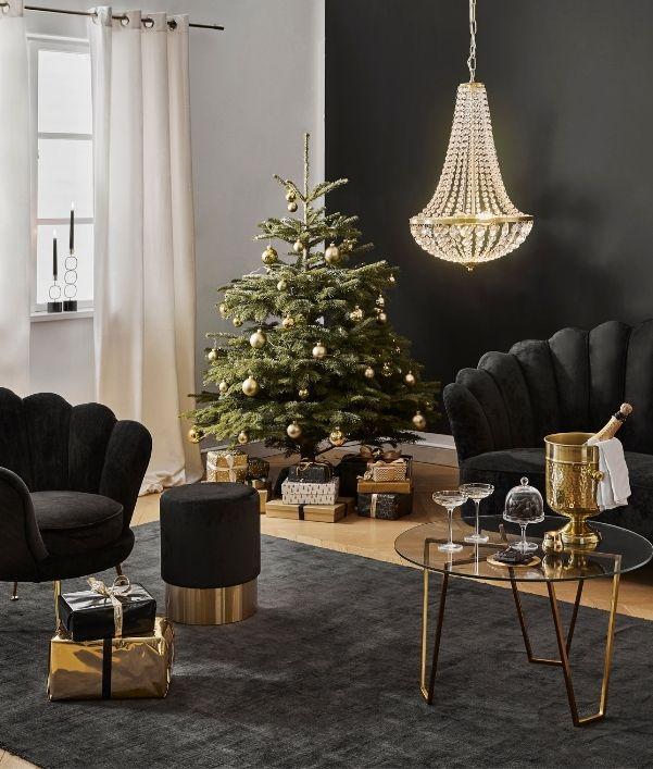 Kerst look Dark Glamour