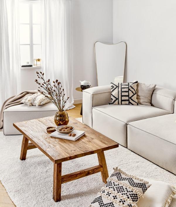 Landelijke woonkamer meubels