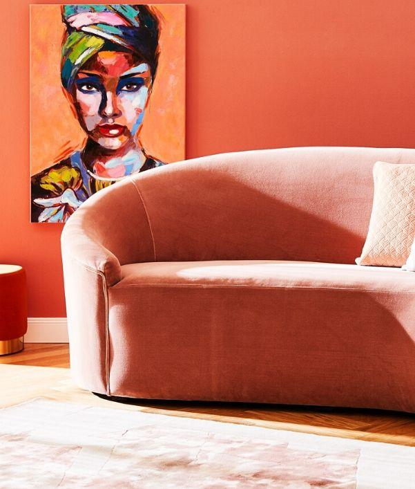 Living Coral interieur