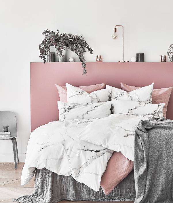 Marmeren meubels en decoratie
