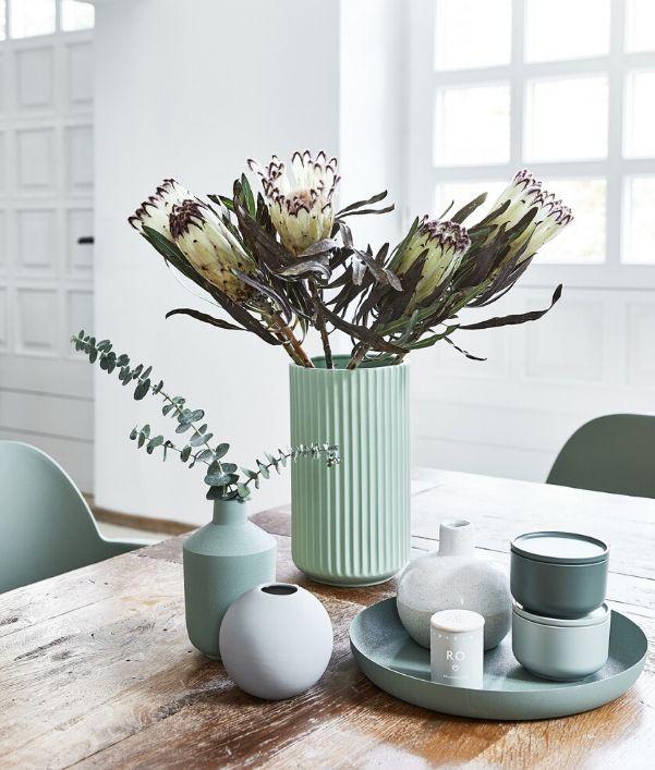 Mintgroene meubels & decoratie