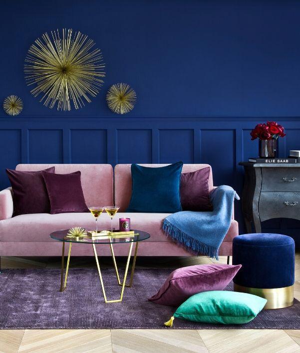 Fluwele meubels