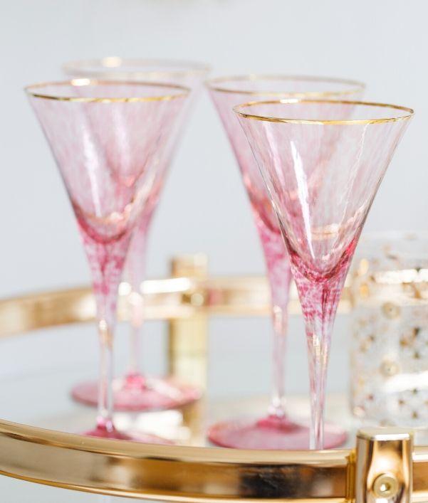 Copas de champagne y cava