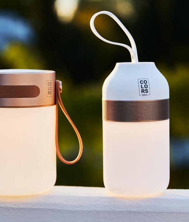 Lámparas portátiles de exterior