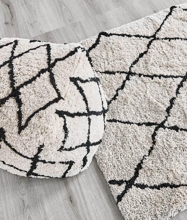 Textiles y alfombras nórdicas