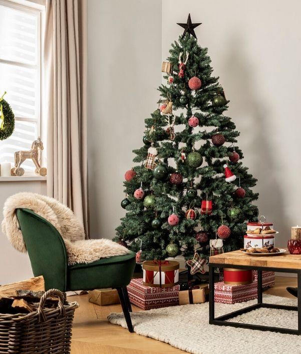 decorations-sapin-de-noel-rouge-vert
