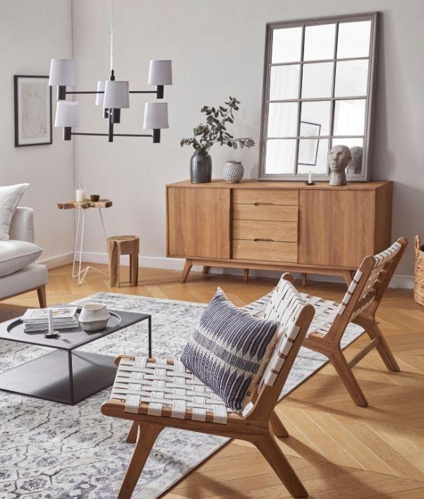 fauteuils-commode-bois-salon-campagne-chic