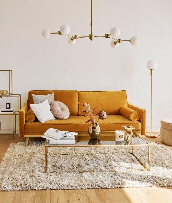 amenager-salon-style-vintage-canape-jaune