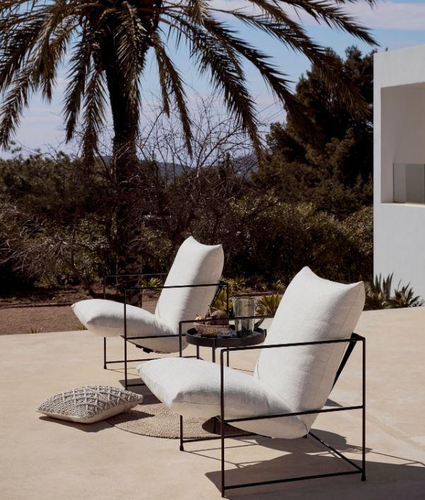 Außenbereich gestalten: Lounge Sessel