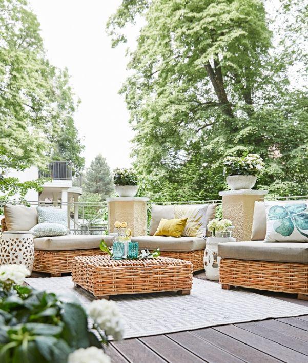 Außenbereich gestalten: Loungemöbel