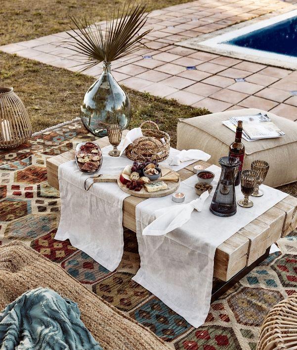 Außenbereich gestalten: Loungetische