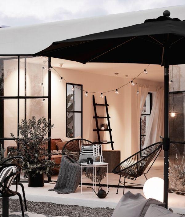 Außenbereich gestalten: Sonnenschirm