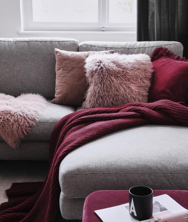 Trendfarbe Bordeaux Rot: Möbel & Deko zum Verlieben
