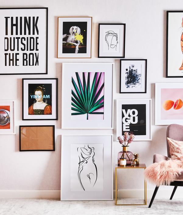 Moderne Wanddeko fürs Wohnzimmer
